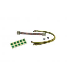 Комплект заземления MIRSAN, шина+кабели