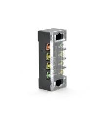 Клеммная колодка 4-разрядная TB-1504 15A - 600V, сечение провода 0,5-1,5мм2, 100 шт в упаковке, цена за штуку