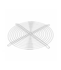 Решетка (гриль) для вентиляторов 200mm, Silver