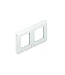 MOSAIC Legrand рамка (2 мод) белый