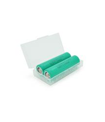 Аккумулятор 18650 Li-Ion LG LGDAHB21865, 1300mAh, 30A, 4.2 - 3.7 - 2.5V, GREEN