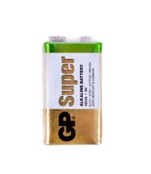 Батарейка щелочная GP SUPER ALKALINE 1604AEB-5S1, 9V, крона, 6LF22 10 (100шт.) х10(10шт.) х1 в вакуумной упаковке цена за 1шт