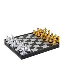 Шахматы на магните U3, большие, Gold - Silver
