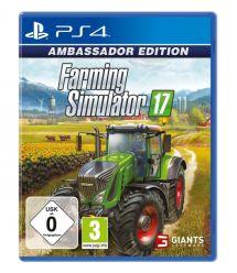 Games Software Farming Simulator 17 Ambassador Edition [Blu-Ray диск] (PS4)