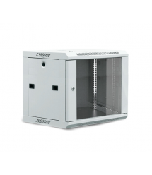 Шкаф 12U, 530х400х600 мм (Ш*Г*В), акриловое стекло, серый