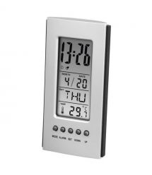 Термометр Hama LCD Silver (00186357)