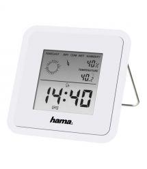 HAMA Термометр/гигрометр TH-50 White