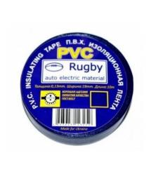 Изолента PVC Rugby 0,18мм*17мм*20м (синяя), диапазон рабочих температур: от - 10С до + 80С, норм качество!!!