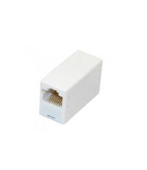 Соединитель RJ45 8P8C мама / мама RJ45 для соединения кабеля, серый, Q100