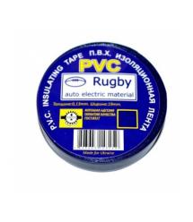 Изолента PVC Rugby 0,18мм*17мм*10м (синяя), диапазон рабочих температур: от - 10С до + 80С, норм качество!!!