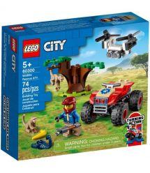 LEGO Конструктор City Спасательный вездеход для зверей 60300-