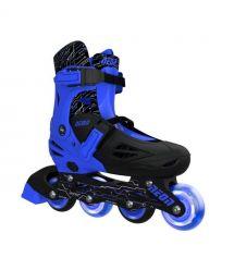 NEON Ролики Inline Skates[Синий (Размер 34-38)]