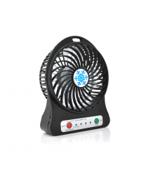 Портативний вентилятор Y9527, 3 режима, аккумулятор 18650, White, Box