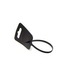 Стяжки нейлон МАРКЕР-ЭТИКЕТКА 4х260mm черные высокое качество, диапазон рабочих температур: от -45С до +80С (цена за 1 шт)