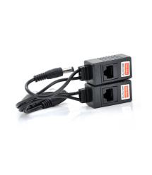 Пассивный приемопередатчик видеосигнала AHD - CVI - TVI, DC+BNC