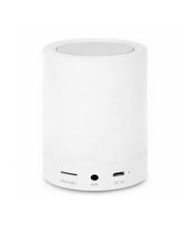 Беспроводной Bluetooth динамик JK-671 с сенсорной лампой, 5W, 1000mAh, дистанция-10m, White, Corton BOX
