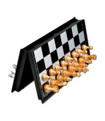 Шахматы на магните U3, средние, Gold - Silver
