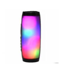 Беспроводной Bluetooth динамик CL-157 LED, 5W, 1200mAh, дистанция-10m, Black, Corton BOX