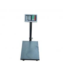 Весы торговые электронные железные (300кг) со стойкой, 400*500мм