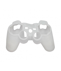 Защитный силиконовый чехол на Геймпад PS3, White