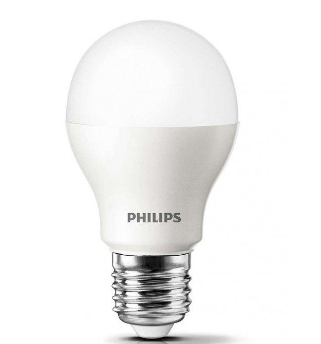 Лампа светодиодная Philips ESS LEDBulb 5W E27 4000K 230V 1CT/12 RCA