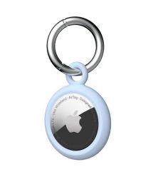 UAG Держатель для Apple AirTags [U] Dot Keychain[Soft Blue]