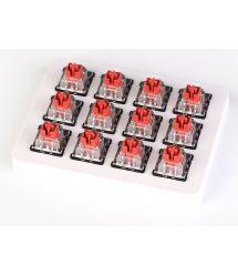 Keychron Набор механических переключателей LK Optical Switch with Holder Set 12Pcs/Set[Red]