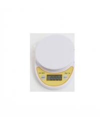 Весы точные кухонные с круглой чашкой, 0,001-5 кг, питание 2 батарейки АА