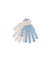 Перчатки ХБ ВОЛНА 12 пар в упак. (720 пар в мешке) цена за упак