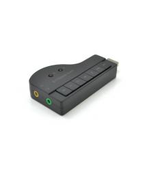 Контроллер USB-sound card (8.1) 3D sound (Windows 7 ready), Blister
