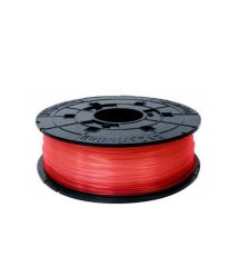 Катушка с нитью 1.75мм/0.6кг PLA XYZprinting Filament для da Vinci, прозрачный красный