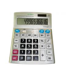 Калькулятор AX 9800V , 31 кнопка, серебристый, размеры 200х155х50, Box