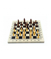 Деревянные шахматы, 260х250х15mm