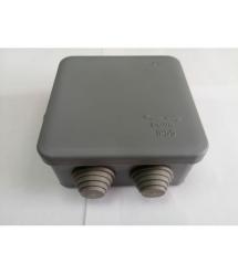Коробка распределительная наружная 90х90х45 мм IP55 цвет серый