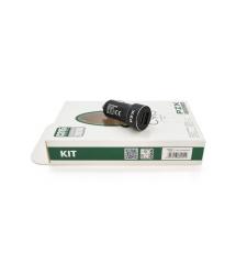 АЗУ PZX C915, 2xUSB, 2.4A, Black, Blister-box