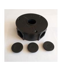 Монтажная коробка для видеокамер KC-115 (Black) &ampOslash 115 x 50 mm