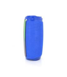 Беспроводной Bluetooth динамик PULSE 4 LED, 10W, 4000mAh, дистанция-10m, Blue, Corton BOX