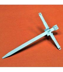 Хомут быстрого монтажа с ударным шурупом, дюбель D6, стяжка 90х6мм., белый, INSTAIL.