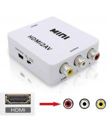 Конвертер mini HDMI-AV