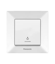 Кнопка вызова Panasonic Arkedia Slim, белая