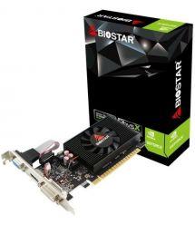 Biostar Видеокарта nVidia Geforce GT710, 2GB, GDDR3, PCI-E2 / Fan, DVI/DP/HDMI