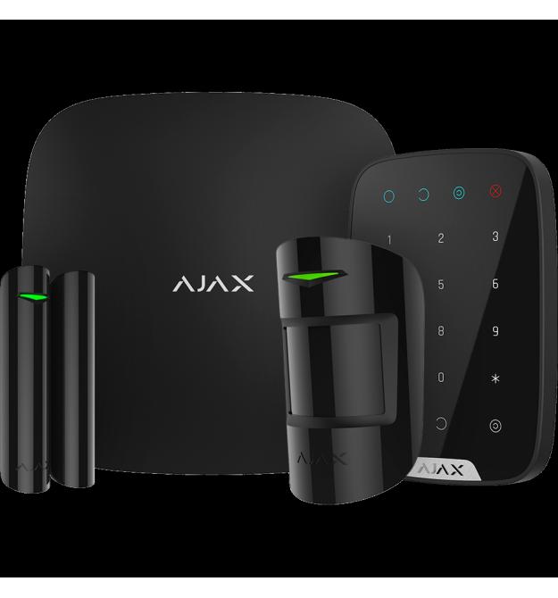 Комплект сигнализации Ajax KeypadKit black