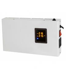Стабилизатор напряжения релейный настенного монтажа Europower SLIM-5000SBR LED, 5000VA 4500W, 140-270Vac, SHUKO 2, Q2 (475*260*1
