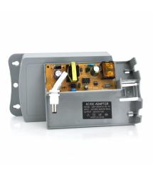 Импульсный адаптер питания YOSO ZH120200 12В 2А штекер 5,5 / 2,1 настенный Dark Grey + переходник 5,5 / 2,5