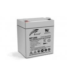 Аккумуляторная батарея AGM RITAR RT1250, Gray Case, 12V 5.0Ah ( 90 х70 х 101 (107) ) Q10