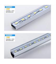 Лента светодиодная 5630 аллюминиевая, на жесткой основе, 12V, 3000K, 72LED, WhiteHot, цена за метр