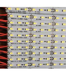 Лента светодиодная 5630 аллюминиевая, на жесткой основе, 12V, 4000K,72LED, White, цена за метр