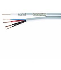 Комбинированный кабель Одескабель ССTV mini RG-59+(2*0,50+2*0,22) бухта 305 м оболочка ПВХ цвет белый