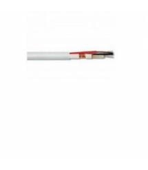 Комбинированный кабель Одескабель КВК-В-2+2*0,50 с запиткой бухта 200 м оболочка ПВХ цвет белый
