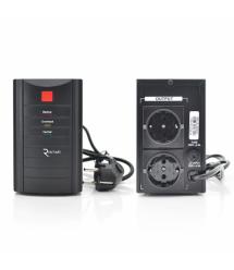 ИБП Ritar RTM525 (315W) Standby-L, LED, 1st, 2xSCHUKO socket, 1x12V4.5Ah, metal Case ( 260 х 85 х 140 ) Q4